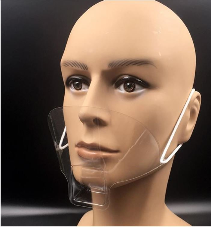 Mini Face Nose and Mouth Shield for Beautician