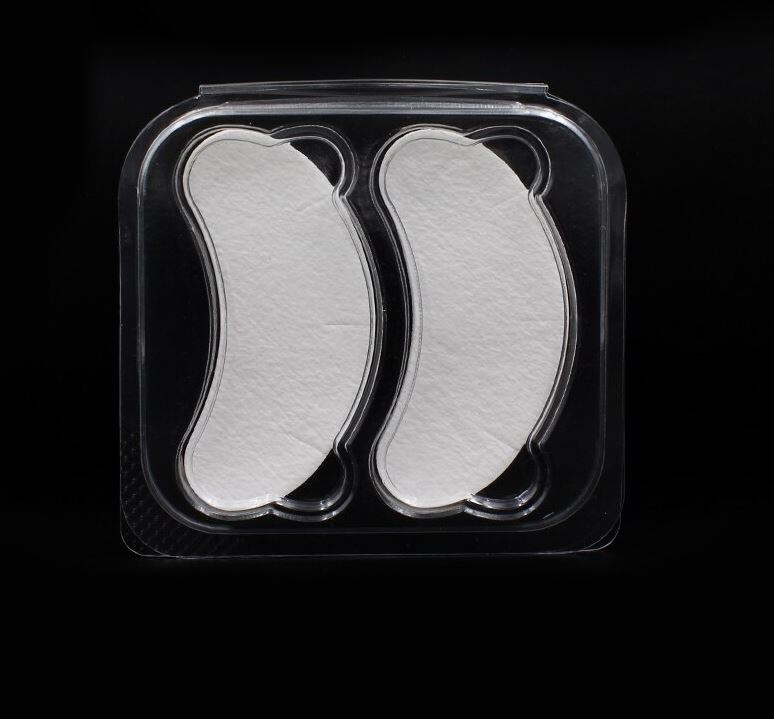 10 pairs gel pads for eyelash extensions in a bag