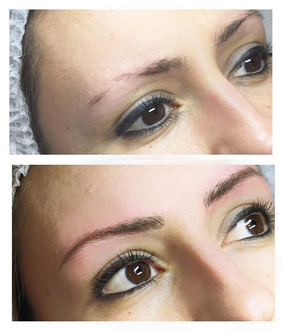 microblading effet poudre