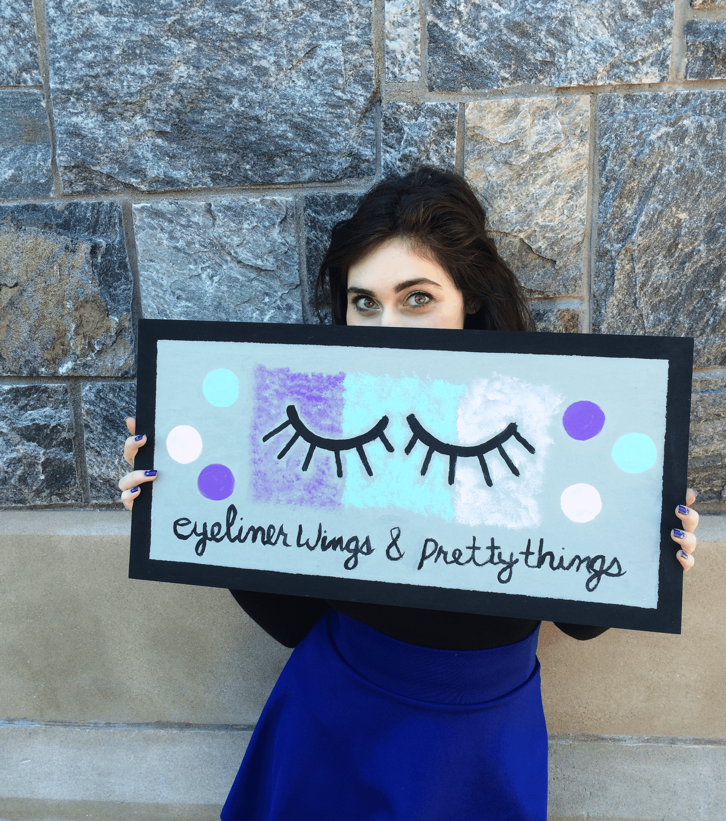 Eyeliner Wings & Pretty Things - About Paige DiFiore