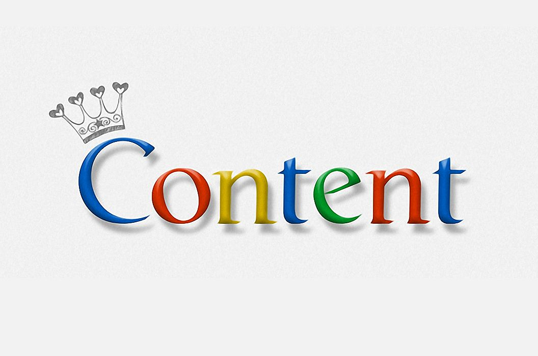 Content is King for Google Search