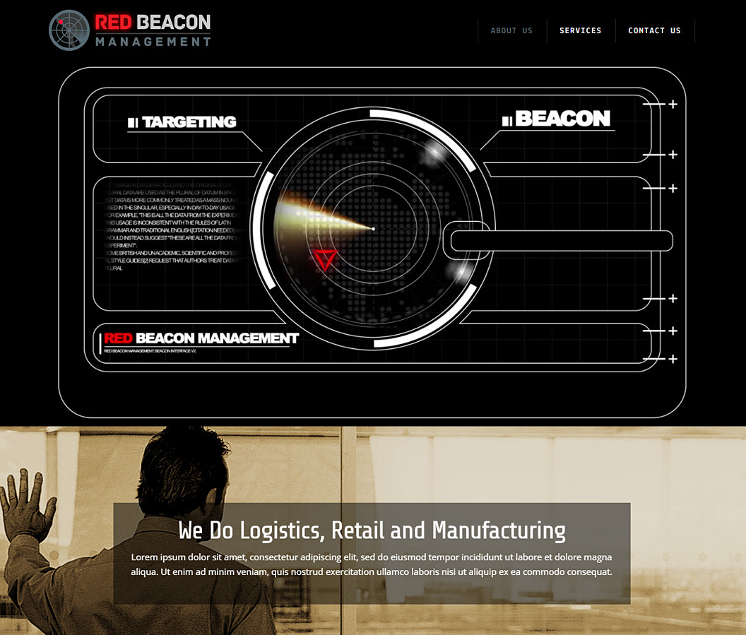 Website Build for Read Beacon Management
