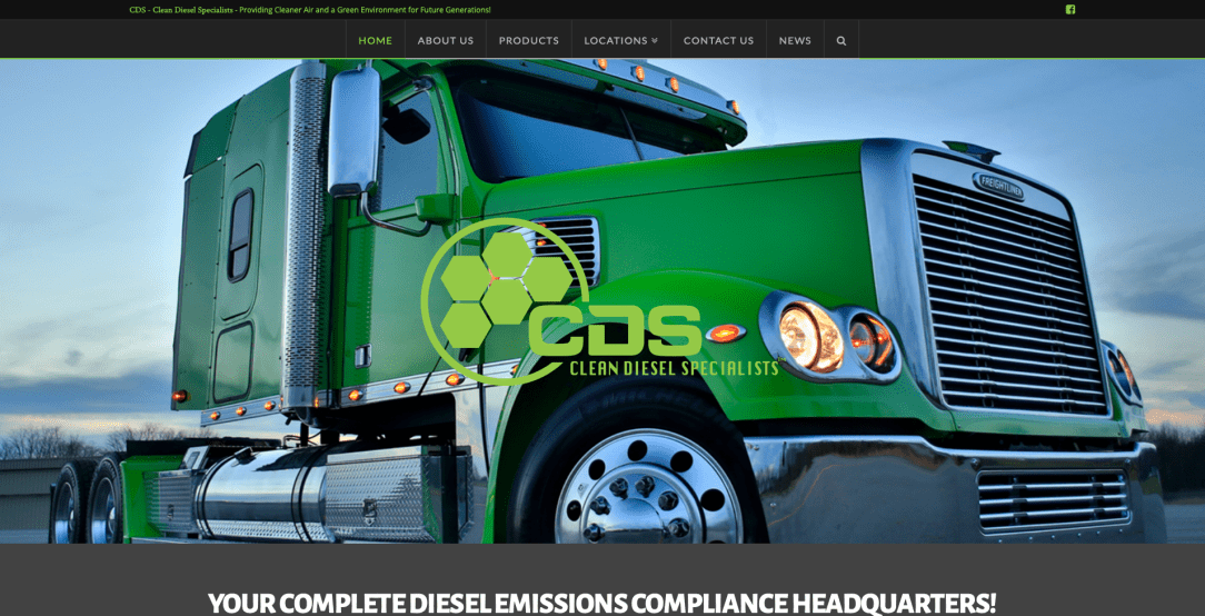 Clean Diesel Specialists - Web Design by Eye Magnet Management