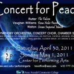 "All Children's Chorus of Annapolis Joins AACC For ""Concert For Peace"""
