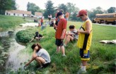kids monitor water quality