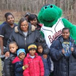 Baysox Holiday Program Helps 21 Families