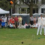 Croquet-Yes, Booze-No!