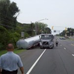 Leaking Tanker Closes Route 2 In Severna Park/Pasadena