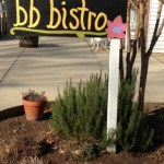 b.b.Bistro:  Sitting Around The Kitchen Eating Fresh & Healthy Food