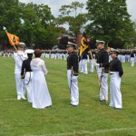 Color Parade Honors Midshipman's Mother