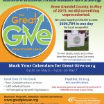 Great Give Dates Set For 2014