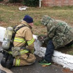 Afternoon Glen Burnie Fire Displaces Family