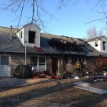 Fire Heavily Damages Odenton Home On Meyers Station Road