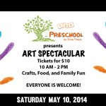 Preschool at Riva Trace Kids Art Spectacular (May 10, 2014)