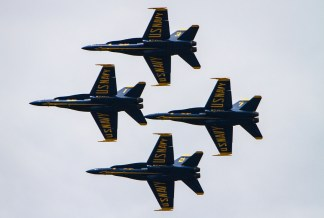 Blue Angels Practice 2014