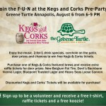 Come out for a Kegs and Corks happy hour