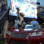 Catonsville man drives home in a new Lexus after Bayhawks win