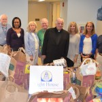 St Mary's Parish Donates over a 8,550 pounds of food to Light House Pantry