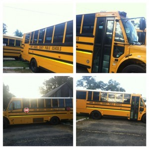 Bus similar to one that was stolen in Anne Arundel County. (Photo: AACoPD)