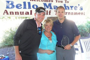 L-R: Shane Ireland and Quinn Salamander of Corporate Brokers with Joanie Peacock of Champion Realty