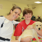 Annapolis family raising puppy for Canine Companions for Independence