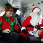 Santa Claus brings Christmas greens to Tangier Island