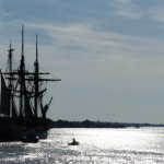 Pride of Baltimore to escort Hermione into harbor