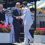VP Biden addresses USNA Class of 2015
