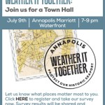 Weather It Together Town Hall agenda