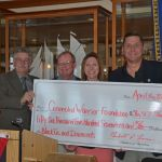 Annapolis Rotary awards more than $50K to Connected Warrior Foundation