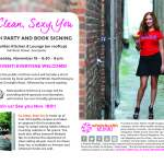 Local author hosting a book signing at Metropolitan, Go Clean, Sexy You