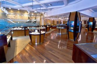 Zachary's Jewelers current showroom