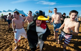 2016 Maryland State Police Polar Bear Plunge for Special Olympics