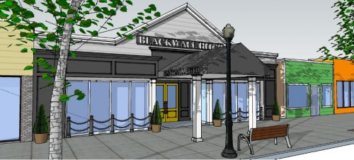 Blackwall Hitch Rehoboth rendering
