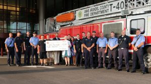 Fire Fighter Donation (2015)