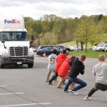 AACC's truck pull this week