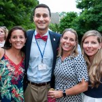 The Paca Girlfriends party on to raise money for Historic Annapolis