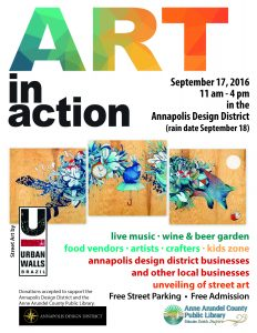 2016 Art In Action Flyer FREE