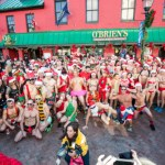 Nothing says Annapolis holidays like hundreds of Santa's in speedos (PHOTOS)