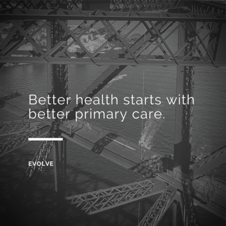 Better Health Starts With Better Primary Care. Evolve Direct Primary Care, the first Direct Primary Care in Maryland, is the highest rated Primary Care and Urgent Care and serves Annapolis, Edgewater Davidsonville, Crownsville, Millersville, Gambrills, Crofton, Arnold, Severna Park, Pasadena, Glen Burnie and Stevensville.