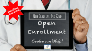 deadline to enroll in health insurance exchange for Maryland and Evolve Medical Clinics, a Direct Primary Care, can help