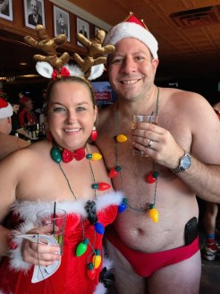 David and Sara met at the 2013 Speedo Run. They were married last October! Congrats