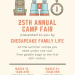 Chesapeake Life Summer Camp Fairs on horizon
