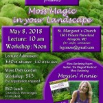 Moss Magic in Your Landscape Lecture & Workshop