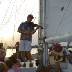Sailing Cruise with live music aboard the 74-foot Schooner Woodwind: