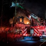 2-alarm fire destroys Dunkirk home