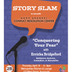 AACRC Story Slam – Conquering Your Fear with Erricka Bridgeford