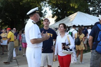 Scenes from I-Day 2019 at the US Naval Academy (PHOTOS