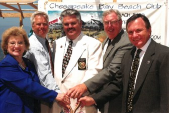 Chesapeake Bay Beach Club - 1999 Groundbreaking