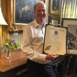 Erik Evans honored for work in Arts District with General Assembly citation